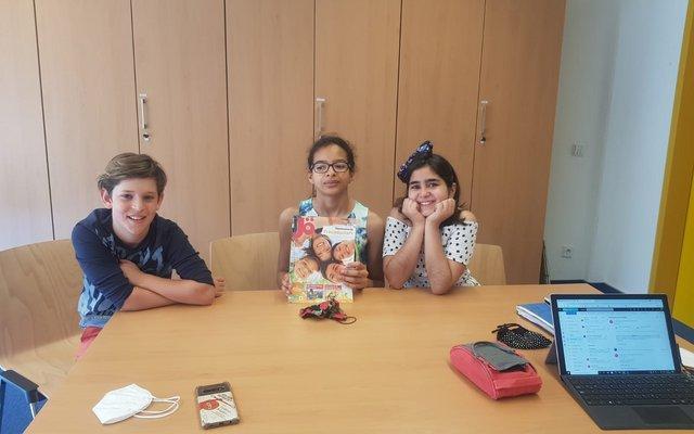 Federico, Isioma und Melek