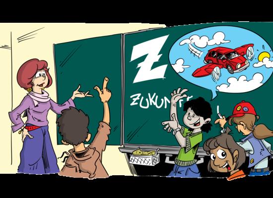 Vorgelesen: Frau Zips und ihre Ideen