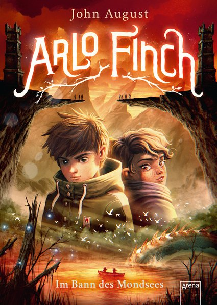 Hörbuchschnipsel: Im Bann des Mondsees (Arlo Finch 2) / Arena Verlag