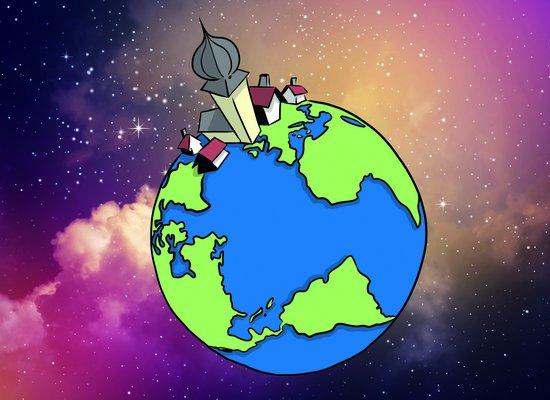 Hilfe, die Erde ist geschrumpft