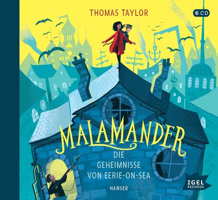 Hörbuchschnipsel: Malamander. Die Geheimnisse von Eerie-on-Sea
