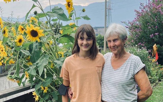 Maja und ihre Oma: Ein tolles Team!