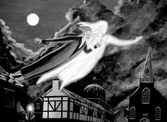 Vorgelesen: Weihnachten mit Gespenstern